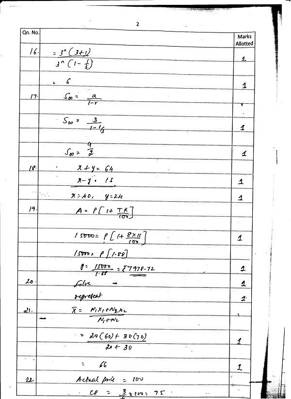 Basic Maths 001