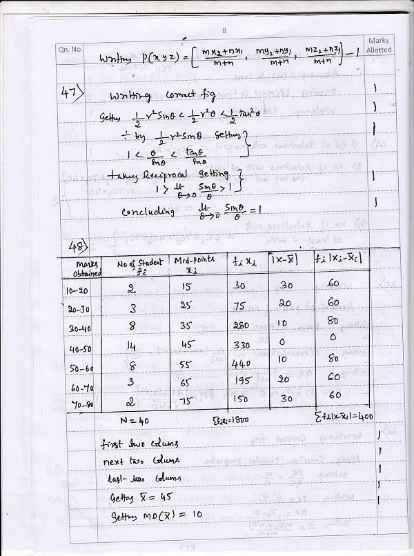 maths 8